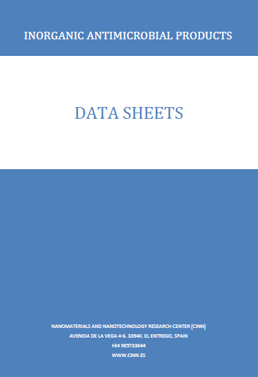 Antimicrobial products data sheets