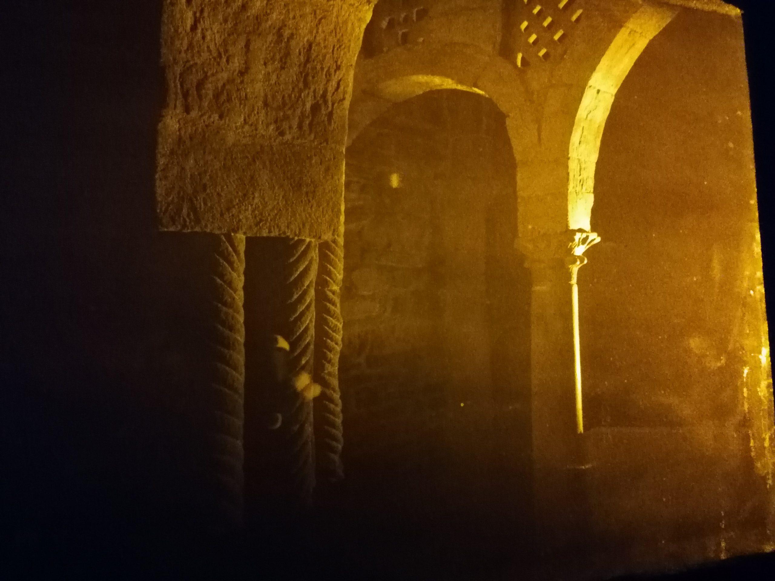Holograma de campo profundo de la Iglesia de Santa Cristina de Lena